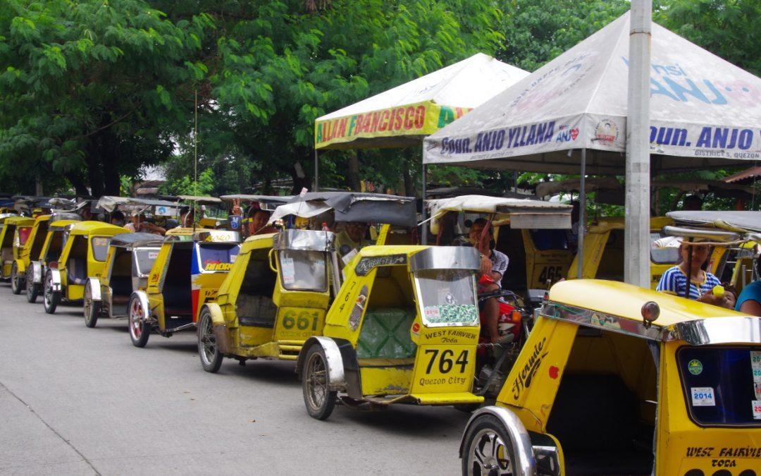Se déplacer à Manille: L'inimitable tricycle