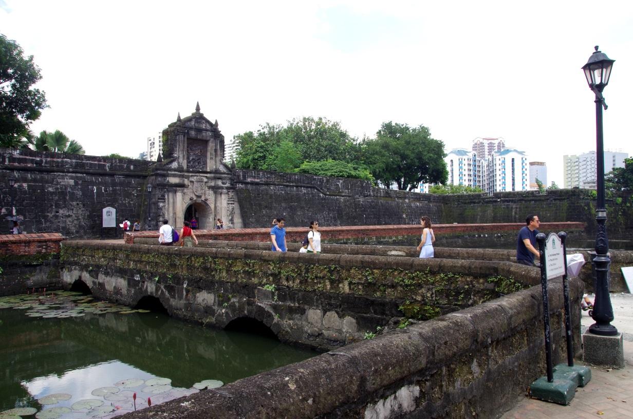 Entrée du Fort Santiago
