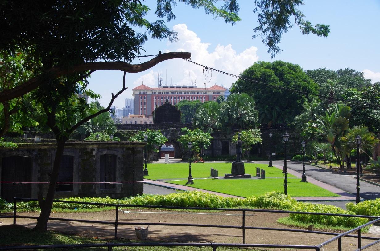Jardin du Fort Santiago