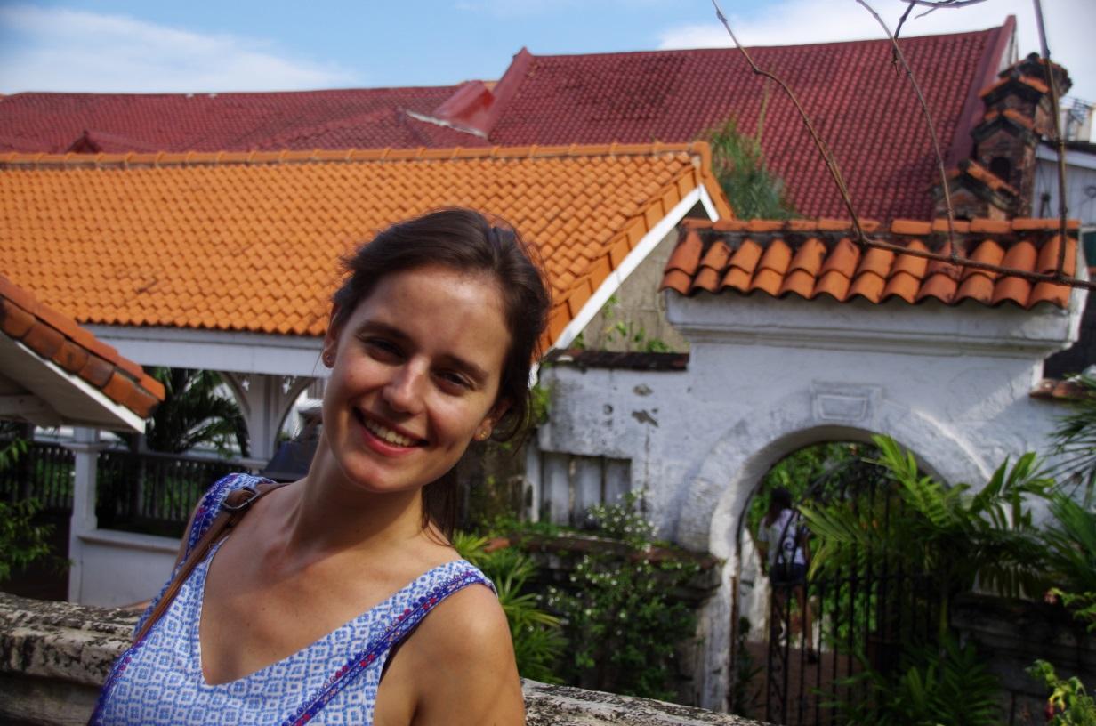 Sur les toits de Manila