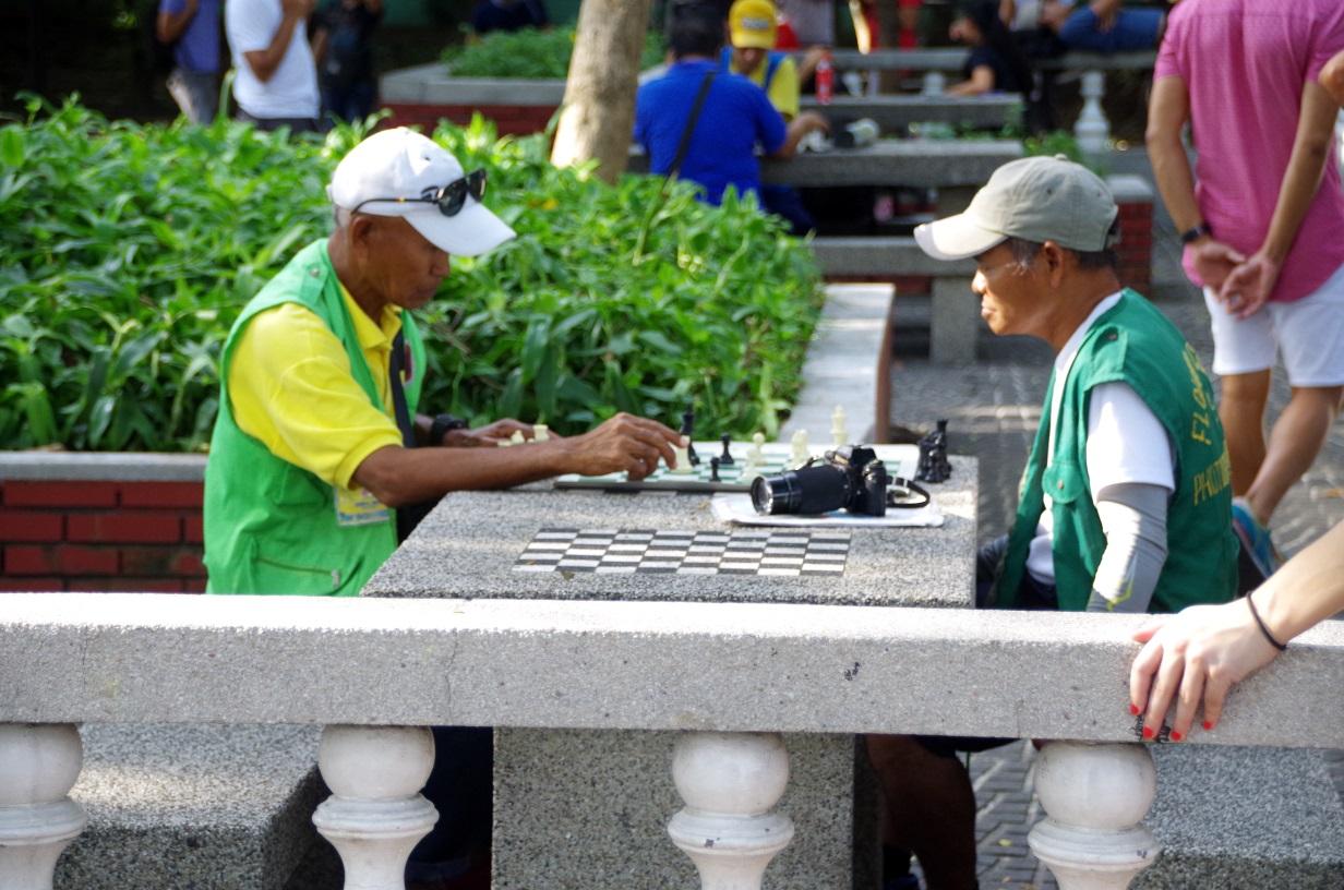 Rizal Park- Tournoi d'échec