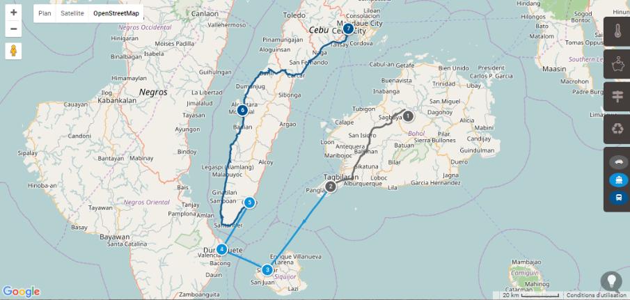 Itinéraire de 2 semaines : Visayas aux Philippines
