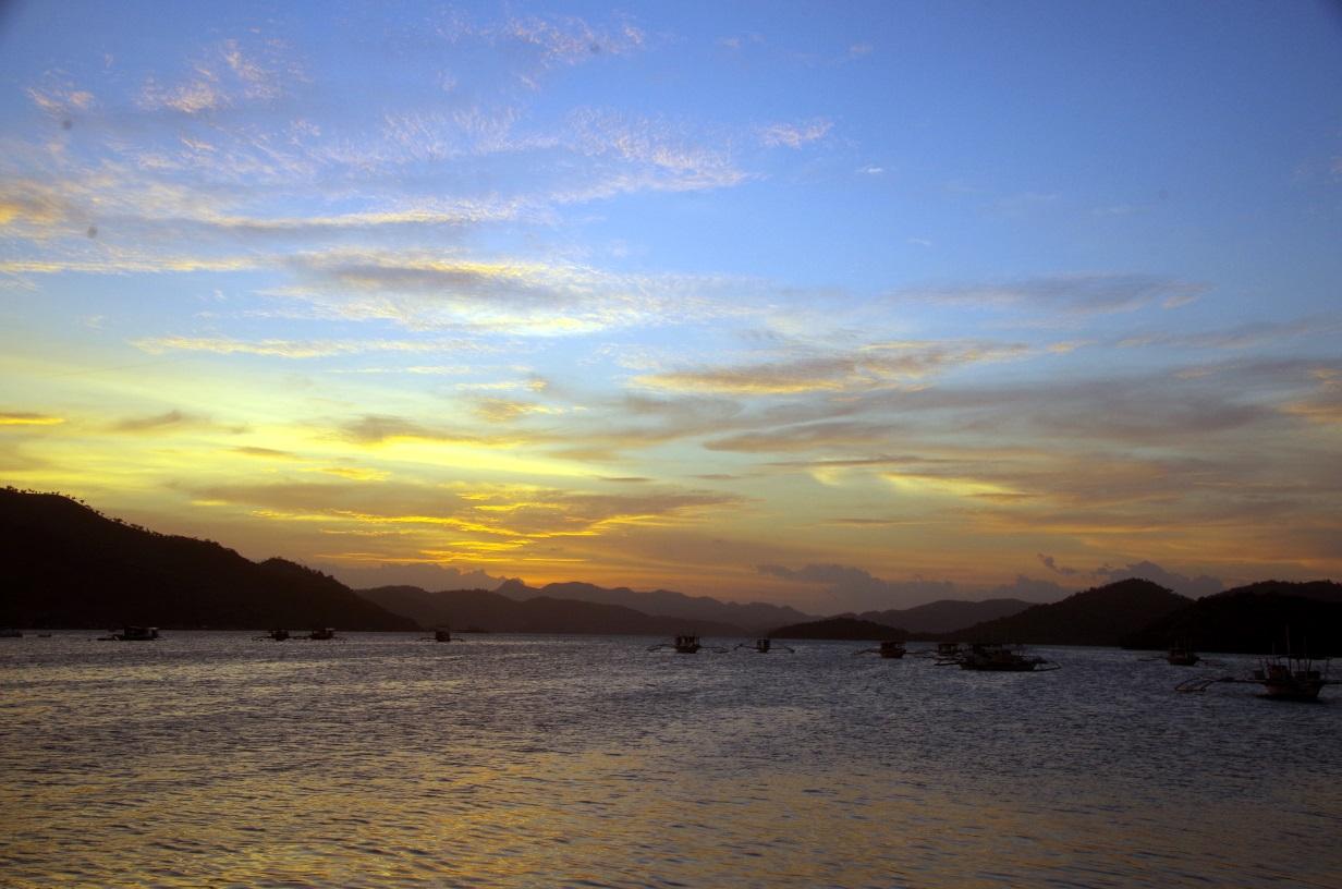 Coron Islands Sunset